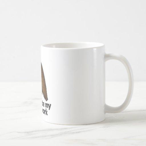 Hawks ate my homework coffee mugs