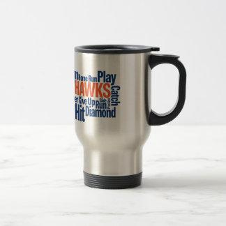 Hawks Baseball Travel Mug