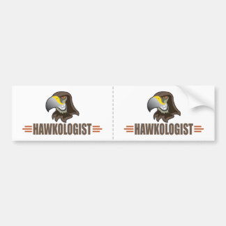 HAWKS - Birds, School Sports Team Mascot Bumper Sticker