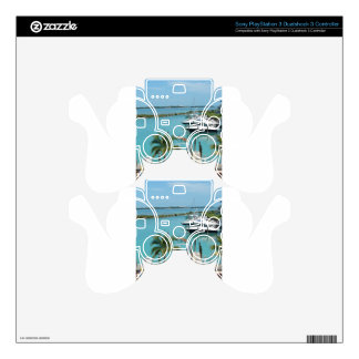 Hawk's Cay Marina Decal For PS3 Controller