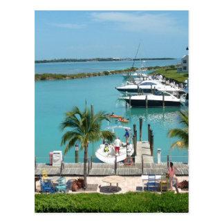Hawk's Cay Marina Postcard