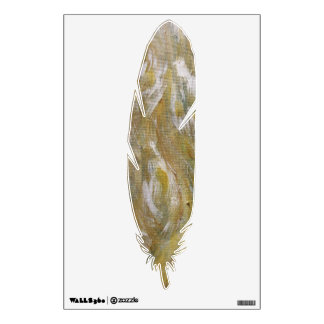 Hawks Feather Wall Decal