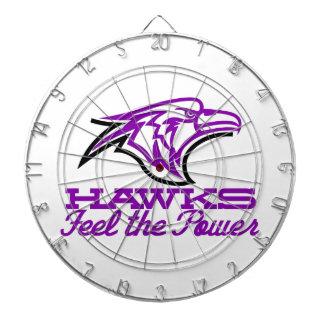 Hawks Feel The Power Dart Boards