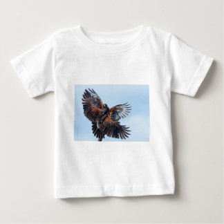 Hawks Fight for Control of the Sky Baby T-Shirt