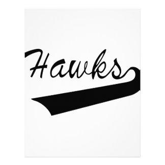 Hawks Letterhead
