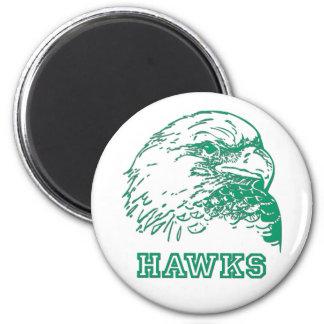 Hawks Logo Refrigerator Magnet