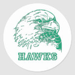 Hawks Logo Stickers
