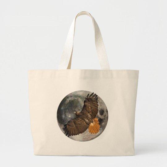 Hawks Moon Large Tote Bag