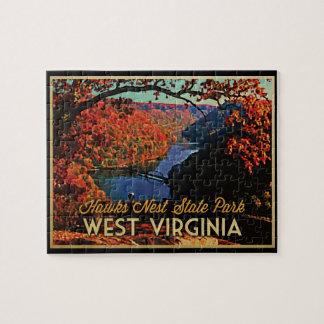 Hawks Nest SP West Virginia Jigsaw Puzzle