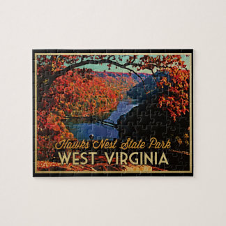 Hawks Nest SP West Virginia Puzzle