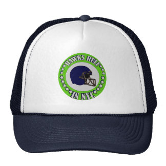 HAWKS RULE IN NYC TRUCKER HAT