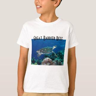Hawksbill Sea Turtle Great Barrier Reef Coral Sea T-Shirt