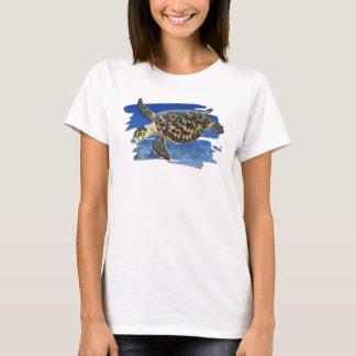 Hawksbill Sea Turtle in Habitat T-shirt