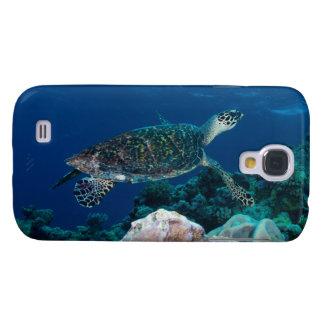 Hawksbill Sea Turtle on the Great Barrier Reef Galaxy S4 Case