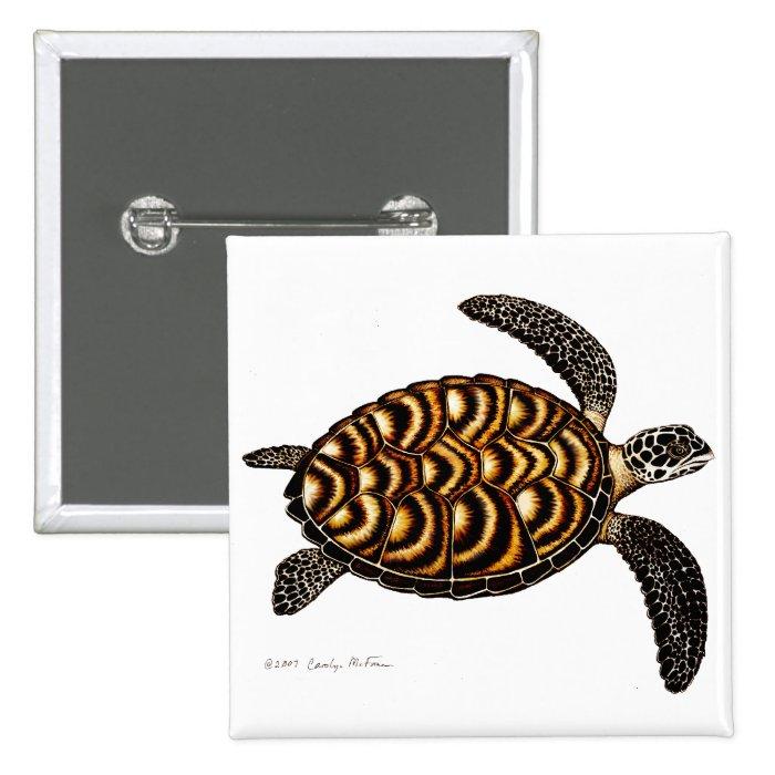 Hawksbill Sea Turtle Pin