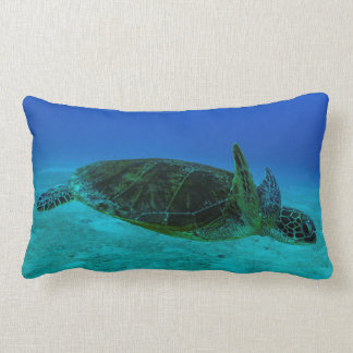 Hawksbill Sea Turtle Throw Pillow