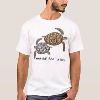 Hawksbill Sea Turtles T-Shirt
