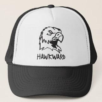 Hawkward - Awkward Hawk Pun Trucker Hat
