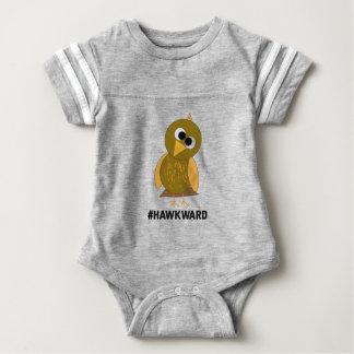 hawkward baby bodysuit