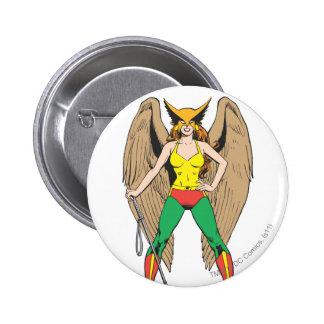 Hawkwoman 2 Inch Round Button