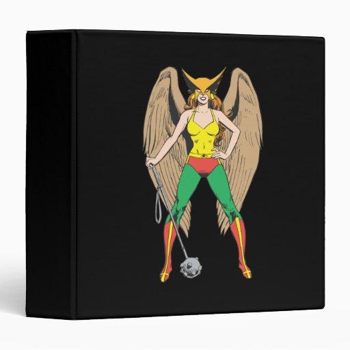 Hawkwoman 3 Ring Binders