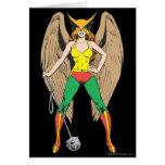 Hawkwoman Greeting Card
