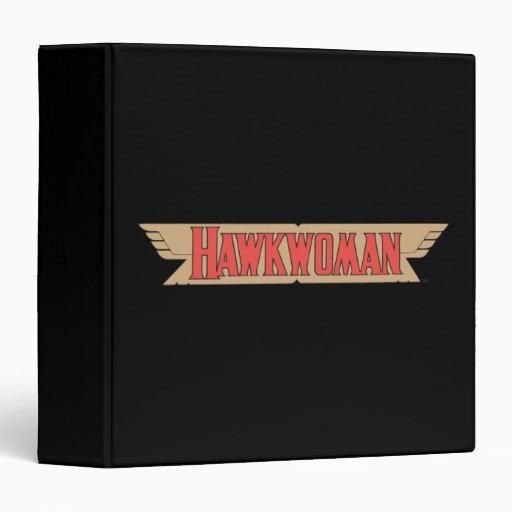 Hawkwoman Logo 3 Ring Binders