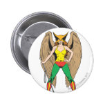 Hawkwoman Pin Redondo 5 Cm