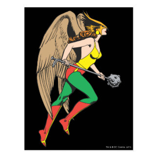 Hawkwoman Profile Postcard