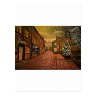 Haworth at Christmas Postcard