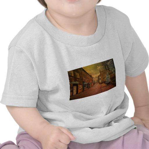Haworth en el navidad camisetas
