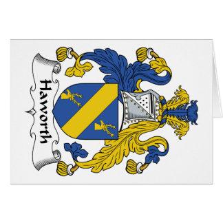 Haworth Family Crest Card