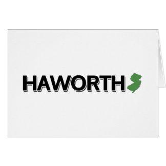 Haworth, New Jersey Card