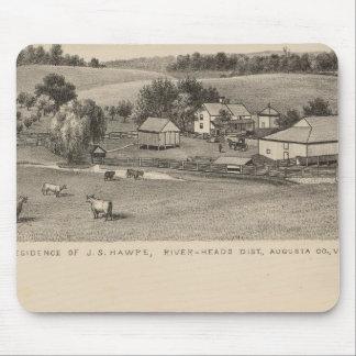 Hawpe, Seawright residences Mouse Pad