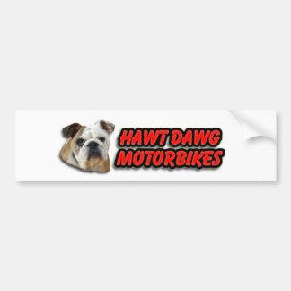 Hawt Dawg Car Bumper Sticker