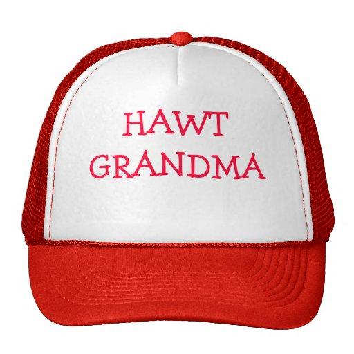 HAWT GRANDMA TRUCKER HAT