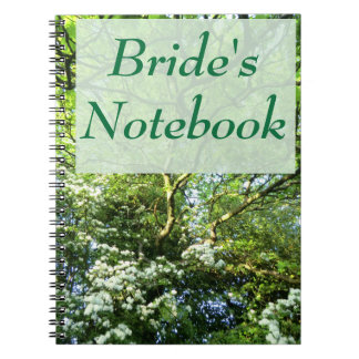 Hawthorn and Oak Handfasting Bride's Notebook