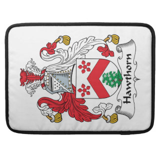 Hawthorn Family Crest Sleeve For MacBooks