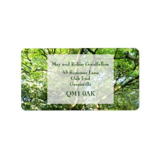Hawthorn & Oak Handfasting Address Labels Address Label