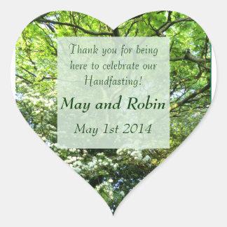 Hawthorn & Oak Handfasting Thank You Sticker