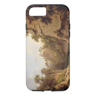 Hawthornden Castle, near Edinburgh, c.1820-22 (oil iPhone 8/7 Case