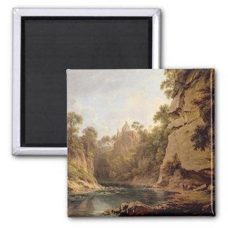 Hawthornden Castle, near Edinburgh, c.1820-22 (oil Fridge Magnets
