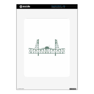 Hawthorne Bridge iPad Skins