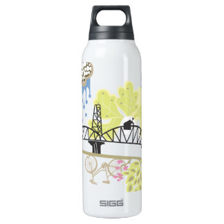 Hawthorne Bridge Liberty Bottle SIGG Thermo 0.5L Insulated Bottle