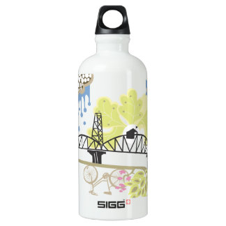 Hawthorne Bridge Liberty Bottle SIGG Traveler 0.6L Water Bottle
