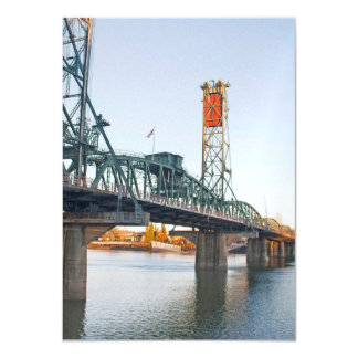 Hawthorne Bridge Portland Daytime Card