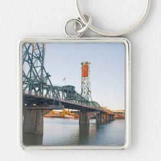 Hawthorne Bridge Portland Daytime Keychain