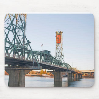 Hawthorne Bridge Portland Daytime Mouse Pad