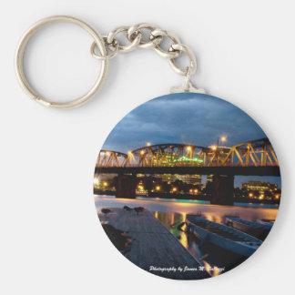 Hawthorne Bridge Portland, Oregon Keychain