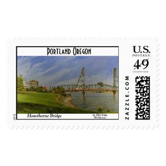 Hawthorne Bridge postage